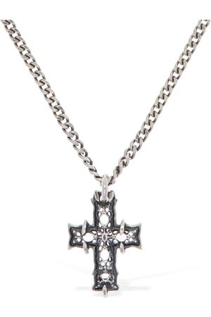EMANUELE BICOCCHI Mini Notre Dame Cross Necklace