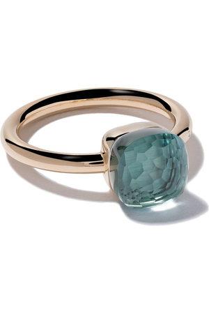 Pomellato Women Rings - 18kt rose gold small Nudo light topaz ring