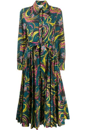La DoubleJ Windy Flowers shirt dress