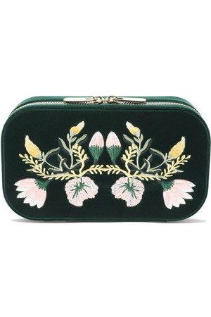 Wolf Floral jewellery box - FOREST