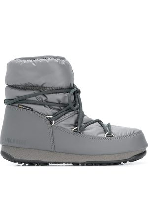 Moon Boot Women Ankle Boots - Lace-up ankle boots - Grey