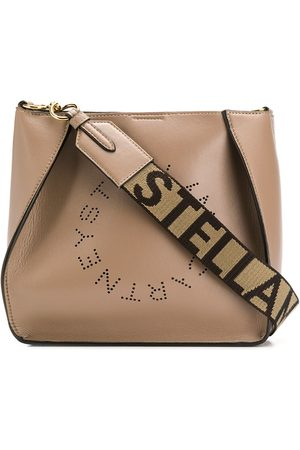 Stella McCartney Women Shoulder Bags - Stella Logo shoulder bag - NEUTRALS