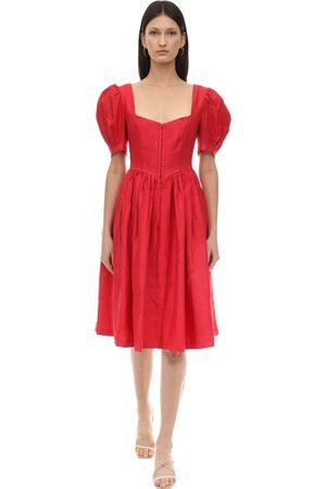 GIOIA BINI Exclusive Clo Linen Dirndl Dress