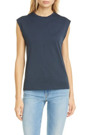 Frame Women's Le Mid Rise Muscle Pima Cotton Tee