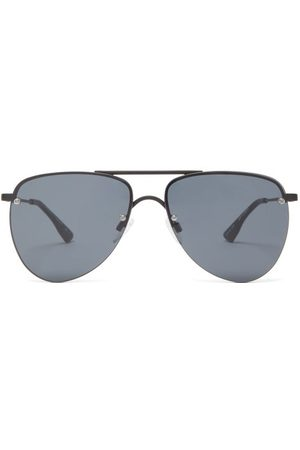 Le Specs The Prince Metal Aviator Sunglasses - Womens
