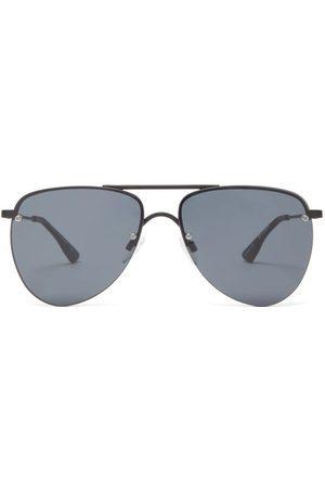 Le Specs Women Aviators - The Prince Metal Aviator Sunglasses - Womens