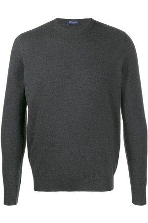 DRUMOHR Men Sweatshirts - Cashmere crew-neck sweater - Grey