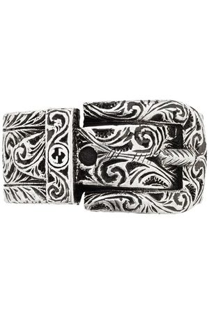 Gucci Buckle detail monogram ring