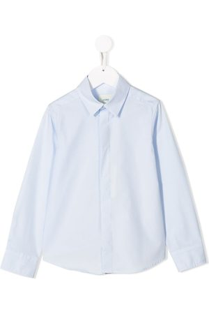 Fendi Kids Pointed collar shirt