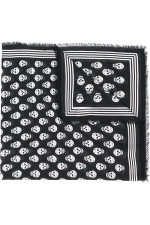 Alexander McQueen Scarves - Skull-print scarf
