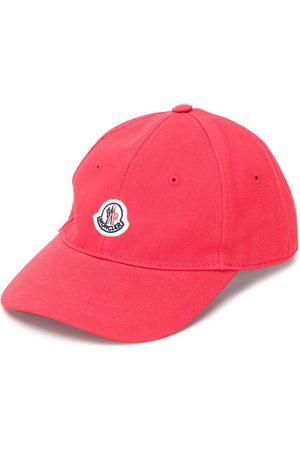 Moncler Logo-patch canvas baseball cap