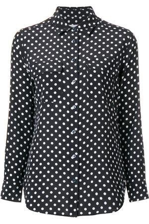 Equipment Women Shirts - Slim signature silk shirt