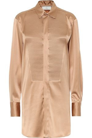 Bottega Veneta Stretch-silk shirt