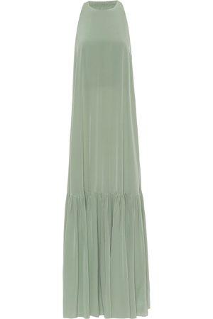 tibi Silk-crêpe dress