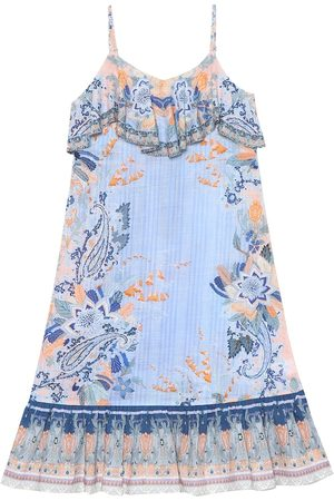 Camilla Printed cotton maxi dress