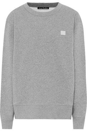 Acne Fairview Face cotton sweatshirt