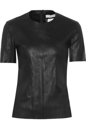 Bottega Veneta Leather T-shirt