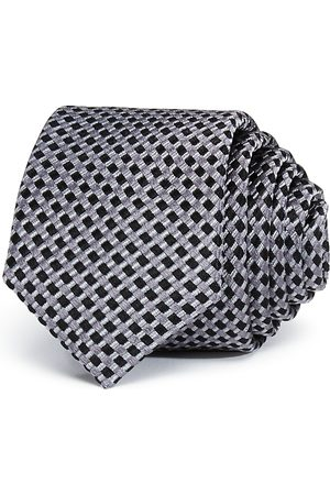 Michael Kors Boys' Royal Natte Silk Tie