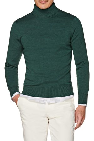 SUITSUPPLY Men's Fine Merino Wool Turtleneck Sweater