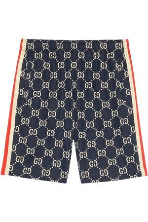 Gucci Men Bermudas - GG jacquard shorts