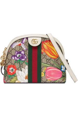Gucci Small Ophidia Flora shoulder bag - Neutrals