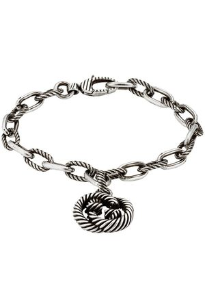 Gucci Women Bracelets - Interlocking G charm bracelet