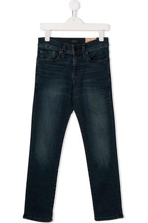 Ralph Lauren Kids Boys Straight - Straight leg denim jeans