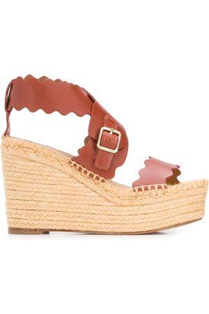 Chloé Lauren espadrille wedge sandals