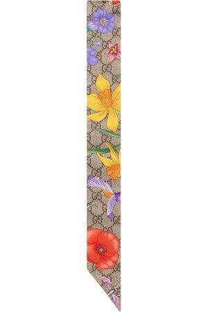 Gucci Flora pattern scarf