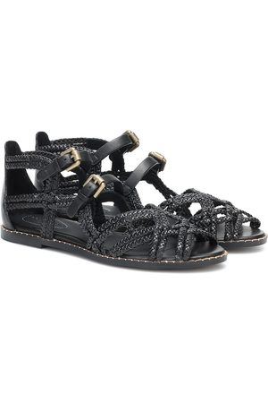 See by Chloé Braided leather sandals
