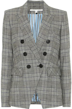 VERONICA BEARD Dickey checked blazer