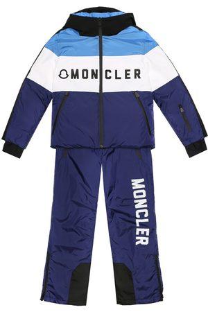 Moncler Sumac down ski suit