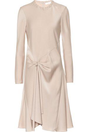 Chloé Satin-crêpe dress