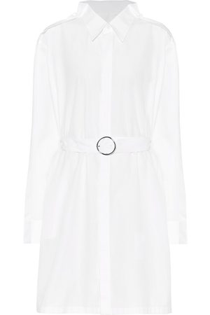 Maison Margiela Cotton-poplin mini shirt dress