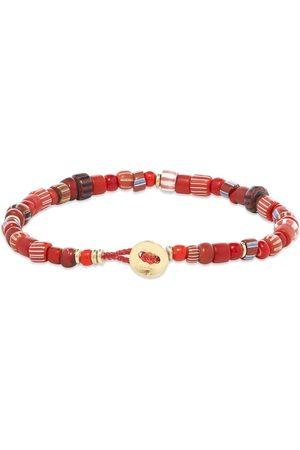 Mikia Men Bracelets - Multi Trade Beads Bracelet