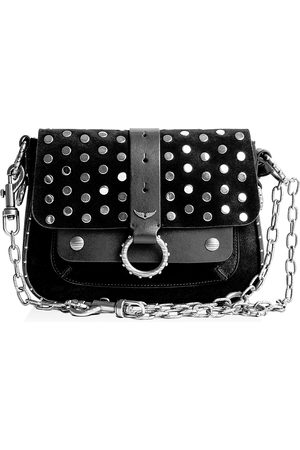 Zadig & Voltaire Kate Studded Shoulder Bag