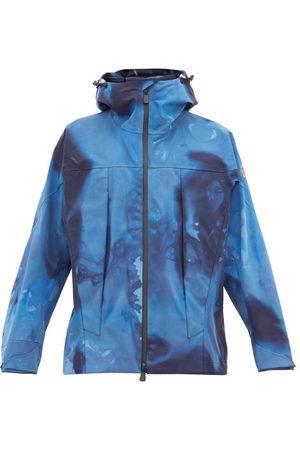 3 Moncler Grenoble Tie-dye Effect Technical Shell Hooded Jacket - Mens
