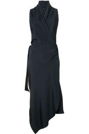PETER COHEN Victor wrap-style silk dress