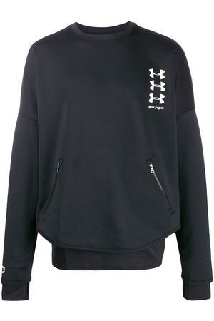Palm Angels X Under Armour logo sweatshirt