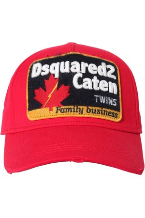 Dsquared2 Cotton Canvas Baseball Hat W/ Patch