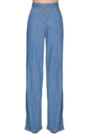 Dsquared2 High Waist Bohemian Jeans