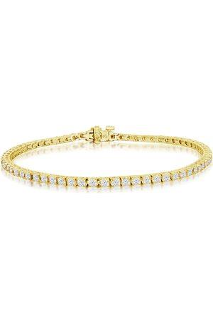 SuperJeweler 9 Inch 14K 5 Carat Diamond Men's Tennis Bracelet