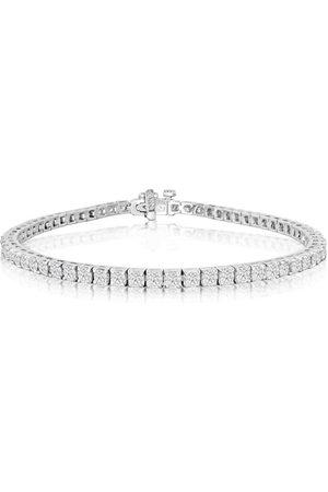 SuperJeweler 7.5 Inch 14K 4 1/4 Carat Diamond Men's Tennis Bracelet