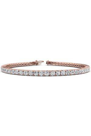 SuperJeweler 8 Inch 14K 4 1/2 Carat Diamond Men's Tennis Bracelet