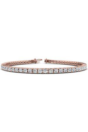 SuperJeweler 7.5 Inch 14K 3 1/4 Carat Diamond Men's Tennis Bracelet