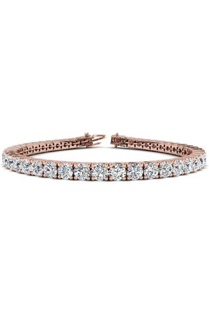 SuperJeweler 9 Inch 14K 11 3/4 Carat TDW Round Diamond Men's Tennis Bracelet (