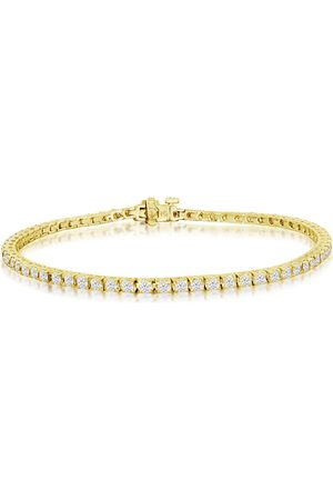 SuperJeweler 7.5 Inch 14K 4 1/4 Carat Diamond Men's Tennis Bracelet