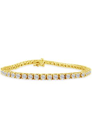 SuperJeweler 9 Inch 14K (14.4 g) 6 1/2 Carat Diamond Men's Tennis Bracelet
