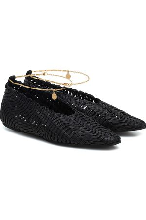 Stella McCartney Women Ballerinas - Woven ballet flats