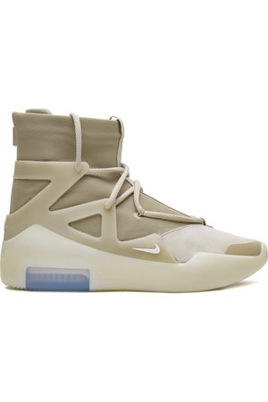 Nike Air 'Fear of God 1' high-top sneakers - NEUTRALS